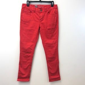 Mossimo Skinny Red Jeans